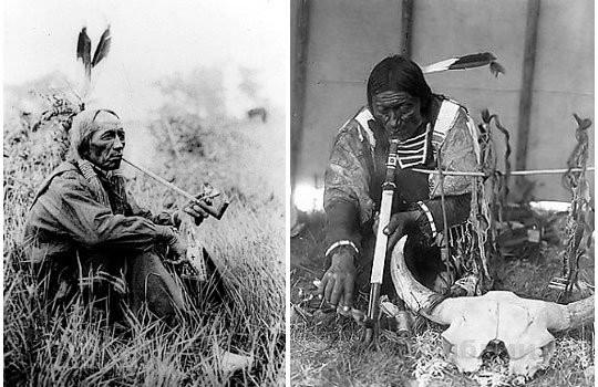 Табак в индейской медицине