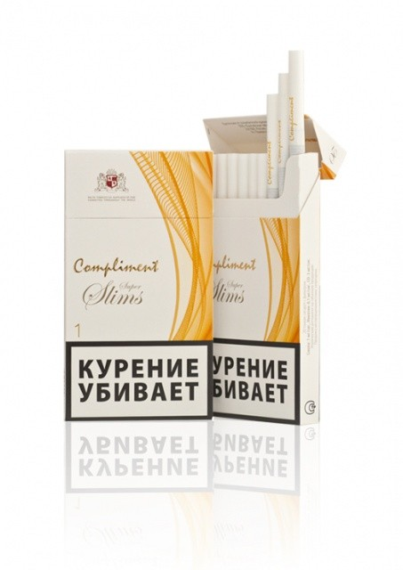 СИГАРЕТЫ COMPLIMENT 1 SUPER SLIMS