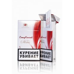 Фото1.СИГАРЕТЫ COMPLIMENT 5 SUPER SLIMS